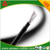 50 ' Solarkabel-Masse-Schwarz-Kupfer #10 AWG-Lehre 1000 Volt PV-Kabel-Draht mit starker XLPE Isolierung