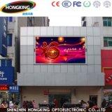 Mur polychrome extérieur de vidéo d'écran de l'Afficheur LED P6