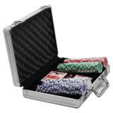 Caixas de Chip portátil caso Chip Poker em alumínio