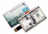 2017高速クレジットカードモデルUSBのメモリ棒のフラッシュ駆動機構16GB