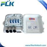 FTTX FTTHの壁のポーランド人によって取付けられる光ファイバ配電箱アクセスネットワーク機構