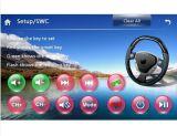 Lettore DVD di GPS dell'automobile con il iPod della TV 3G RDS