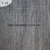 Couvercle de la plaine de Style Brun canapé tissu (FTH31918)