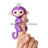 Смешные Детский интерактивный Пэт палец обезьяны