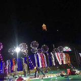 Hete het Verkopen van de fabriek Kerstmis die LEIDENE ultra Transparante Ballon adverteren Geen Bal van de Golf van de Rimpel Lichtgevende