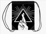 Sac de sac à dos de polyester de cordon pour la promotion (MOUCHE dB0119)