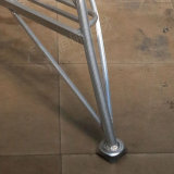 20 Jobstepp-Aluminiumextensions-faltende Stahljobstep-Strichleiter