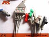 Cable de una pieza de Biosys ECG con los Leadwires