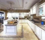 Gabinetes de cozinha de madeira europeus feitos sob encomenda do modelo novo do estilo