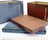 Behälter-Abbildung-Drucken-Kasten, kundenspezifischer Pappgeschenk-Papier-Ablagekasten