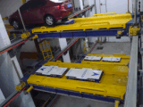Ppy - levage automatique de système mobile plat de stationnement de H2