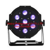Rasha China Dose der Fabrik-Stadiums-Licht 7*10W 4in1 RGBA/RGBW LED NENNWERT Licht-Disco-DMX LED Megar PAR38