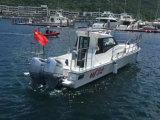 barco da alta velocidade do barco de pesca da fibra de vidro de 32FT
