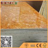 Melamin-Papier stellte Furnierholz mit Birken-Holz-Korn gegenüber