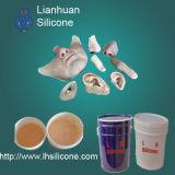Pele 1A seguro do corpo humano do silicone da carcaça da vida: costa do 1b RTV-2 uma dureza 0-40