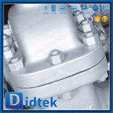 Запорная заслонка стержня фланца Didtek DIN En1092-1 поднимая