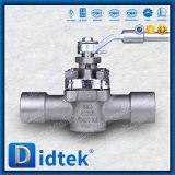 Válvula de enchufe de la funda de Didtek Cn7m
