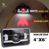 工場12V 24V 45W 25Wオフロード防水4X6点自動LEDのヘッドライト