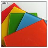 カラー装飾のためのパターンによってラッカーを塗られるペンキガラス