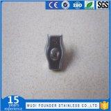 Clips recto de câble métallique de matériel