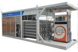 Het mobiele Bijtankende Station van het LNG voor het Vullen van Voertuigen NGV