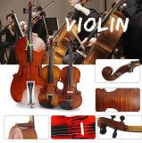 Скрипка размера музыкальной аппаратуры 4/4 оптового твердого студента предварительная