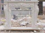 De in het groot Westelijke Open haard van de Steen van het Ontwerp Hand Gesneden voor Huis