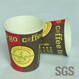Cuvettes de papier personnalisées de café bon marché remplaçable