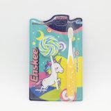 O miúdo/criança/Toothbrush com cerdas Nano, presente das crianças incluíram o bloco 881