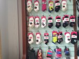 Socke der gekämmten Baumwolldoppelt-Zylinder-Damen