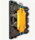 Indicador de diodo emissor de luz interno magro da cor cheia com gabinetes de fundição 640*640 milímetro para o arrendamento