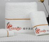 Выдвиженческие полотенца гостиницы/домашних хлопка ванны/стороны/руки с логосом