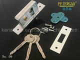 Fechamento 99 da porta deslizante de Deadbolt do gancho do dobro da chave da cruz da qualidade de Hight