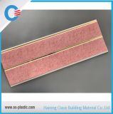 Type d'impression de plafond de PVC du rose 25cm panneau de plafond avec la qualité