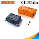 het ZonneLCD van het Controlemechanisme van de Last 20A/30A MPPT Zonnepaneel van de Vertoning 55V