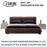 Muebles modernos G7002A del dormitorio de la sala de estar del hotel de la base de la tela de Brown