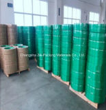 упаковка зеленого полиэфира Jumbo крена 75kg Linen