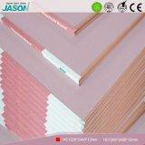 Placoplâtre décoratif de mur de pierres sèches de matériau de construction/placoplâtre de pare-feu pour Project-12mm