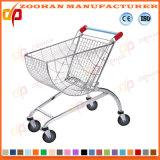 Supermarkt-Australien-Entwurfs-Zink-Einkaufswagen-Laufkatze (Zht47)