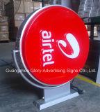 Рекламировать коробку сформированную вакуумом светлую для рекламировать