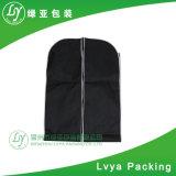Couvercle pliable réutilisables personnalisés adaptés à l'habillement sac sacs de vêtements avec fermeture à glissière