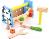 Деревянная воспитательная штанга игрушки инструмента для малышей