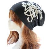 Beanie Slouchy del cotone del cappello del Beanie di stirata morbida rigonfia unisex di Hip-Hop