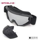 De nieuwe ModelGlazen van de Zon van de Motorfiets van het Windscherm van Beschermende brillen met de Motorfiets van het Glas van het Masker