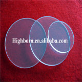 Plaque plus épaisse matérielle en verre de quartz de silice de cercle de GE