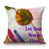 Inglês criativa carta impressa Digital capa do assento para sofá (35C0273)