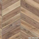 Papel impreso grano de madera como función de la decoración para la cocina, el sitio, Worktops y la puerta