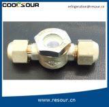 Coolsour HVAC zerteilt Messinganblick-Glas
