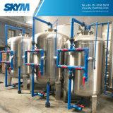 Sistema do tratamento da água da osmose reversa com pre os filtros do tratamento