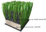 Recycler les granulés de caoutchouc des pneus de SBR pour le remplissage sur le terrain en gazon artificiel
